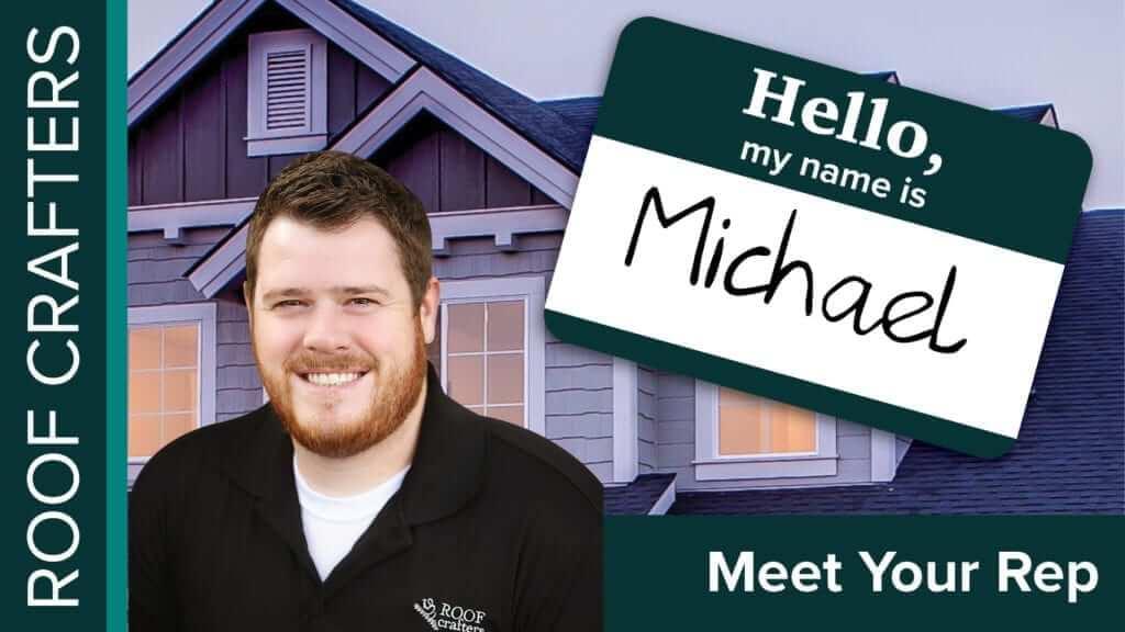 Meet Roof Crafters Rep Michael Warren
