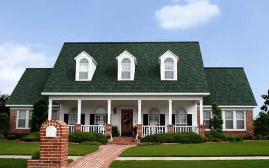 Roofing Chateau Green Color Shingles