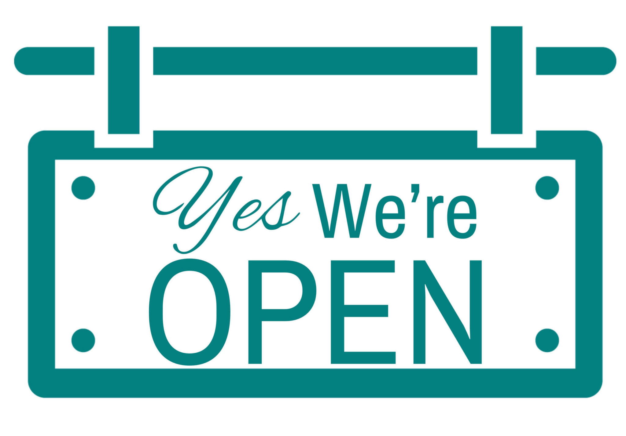 We are Open icon for Roof Crafters
