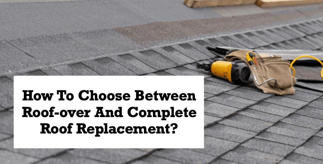 Roof replacement vs Roof Repair